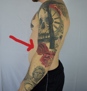 Disregard the tattoo on my elbow - It is not completed.