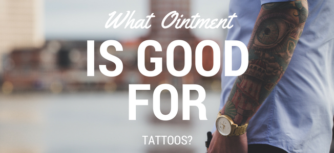 what antibacterial ointment for tattoo